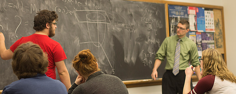 Cornell math course in action