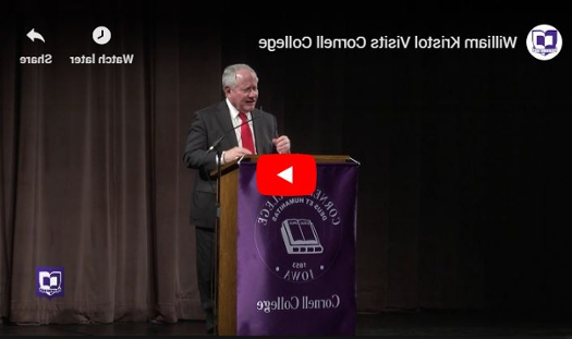 William Kristol's American 政治 in the Age of Trump, Roe Howard Freedome Lecture at 澳门太阳城网站